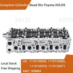 Assembled Cylinder Head for Toyota HIACE / COMMUTER V,  HIACE IV 2KD-FTV 908784