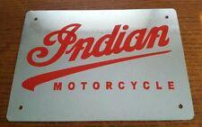 Indian Motorcycle Logo  Metal  Sign Retro Garage Repair Shop Bar Gift USA