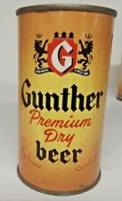 Clean Gunther Flat Top Beer Can, Original, Bottom Opened, Baltimore, Md