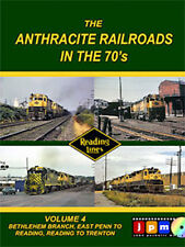 Anthracite Railroads in the 70s Volume 4 Bethlehem Branch DVD John Pechulis NEW
