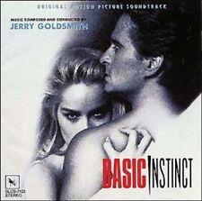 Basic Instinct Jerry Goldsmith Japan CD SLCS OBI Sharon Stone Michael Douglas