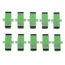 10pcs sc apc simplex mode fiber optic adapter sc apc optical fiber coupler SP