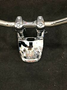 HARLEY-DAVIDSON OEM HANDLEBAR, RISER AND TOP CLAMP ASSY. FROM 2016 H-D FXDL USED