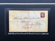 "Gb 1982 £4 Mint Prestige Stamp Booklet - ""Story of Stanley Gibbons"" (Dx3)"