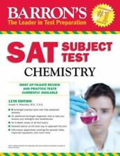 Barron's SAT Subject Test Chemistry, 12th Edition by Joseph A. Mascetta