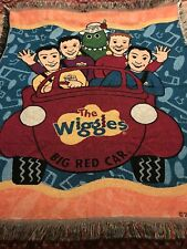 Wiggles Toot Chugga Tapestry Blanket Throw Toddler Lap Big Red Car Security