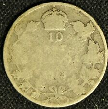Canada 1913 10 Cent Piece - Broad Leaves - Buyers Grade -