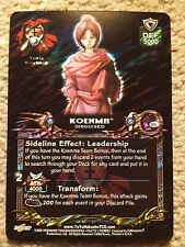 Yu Yu Hakusho TCG CCG S15 Koenma Disguised Spirit RARE Card