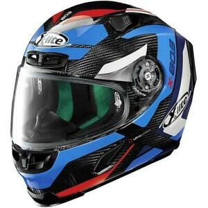 X-Lite X-803 Ultra Carbon Mastery Motorcycle Race Helmet Tinto Blue 050 Pinlock