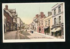 Dorset LYME REGIS Broad St New Inn Parnham Rendall Stores pre1919 PPC