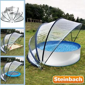 Steinbach 440x220 Pavillion Zelt Gartenpavillion Pooldach Gartendach Cabrio Dome