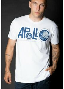 Alpha Industries Apollo 11 50th Anniversary Men's T-Shirt Top Size Small RRP £40