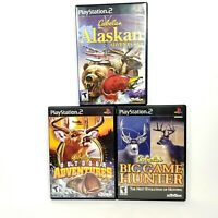 Cabelas Hunting: Outdoor & Alaskan Adventures, Big Game Hunter PS2 PlayStation 2
