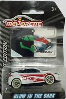 Majorette HONDA CRZ white diecast model car Glow in the dark series limited