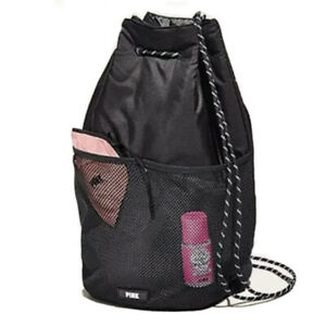 Victoria's Secret Pink Brand Active Drawstring Backpack
