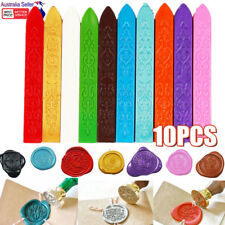 10x DIY Sealing Seal Wax Stick Candle for Envelope Wedding Stamp Letter Card