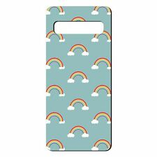 For Samsung Galaxy S10 Silicone Case Rainbow Pattern - S3164