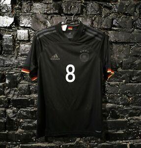 Germany Jersey Away football shirt 2020 - 2022 Black Adidas EI4636 Size Young XL