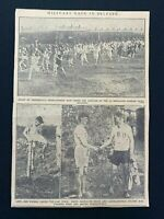 1926 Newspaper Clipping ARMY CROSS COUNTRY RACE BELFAST, DURHAM LIGHT INFANTRY