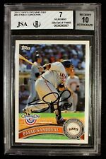 2011 Topps Opening Day Baseball Pablo Sandoval AUTO BGS 10