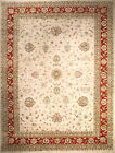 Hand-knotted Rug (Carpet) 9'8X12'9, Agra mint condition