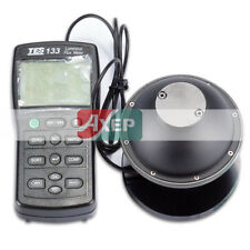 A● TES-133 Digital Light Meter Luminous Flux Tester w/7pcs Adapters