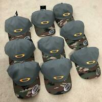 oakley men's hat cap ellipse camo logo adjustable 6 panel new