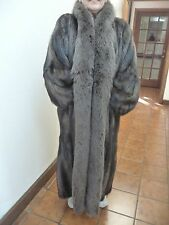 FULL LENGTH MINK & FOX FUR COAT FROM THE BEVERLY HILLS ESTATE OF MARJORIE LORD