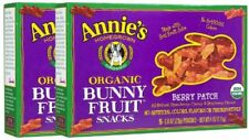 Annie's Homegrown Organic Bunny Fruit Snacks Berry Patch -- 4 oz (Pack of 2)