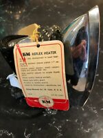 K&M Vintage Model 1166217 Heatmaster Deluxe Reflex Heater Iron WITH TAGS