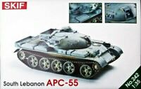Skif 242 - 1/35 - Lebanese Armored Personnel Carriers 55 Plastic Model Kit