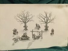 "Dpt 56 Heritage Village #56599 Nev ""Tapping The Maples� Set Of 7"