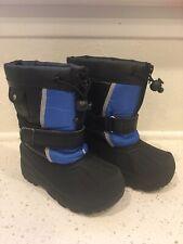 Koala Kids ~ Snow Boots ~ Little Boys ~ Size 10 ~ Blue Black