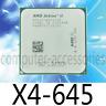 AMD Athlon II X4-645 Quad-Core 3.1 GHz 2M Socket AM3 CPU Processors