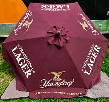 Yuengling Lager 7' Umbrella Patio, Beach, Pool - New & Free Shipping