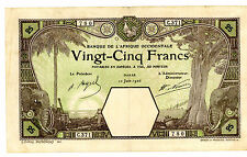 French West Africa … P-73c … 25 Francs … 10-Jun-1926 … *F-VF*