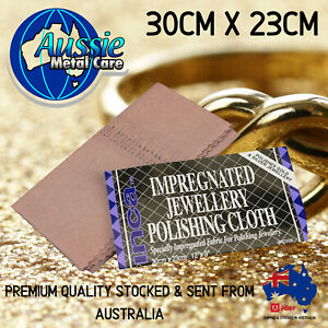 Jewellery Polishing Cloth Jewellery Cleaner Clean Gold, Silver Large 30cm x 23cm