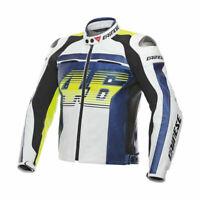 NEW Valentino Rossi VR 46 Motorcycle/ Motorbike Leather Racing Moto GP Jacket