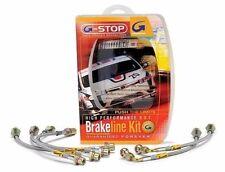 Goodridge 24215 Stainless Steel Brake Lines Front & Rear Set for 02-07 WRX / STi