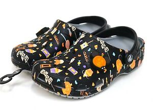NEW Disney Parks X Crocs Classic Mickey 2020 Halloween Candy Light Up Clog Shoe