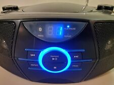 JENSEN Portable Bluetooth Radio CD Player with AM/FM Stereo (CD-560). Tested