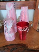 McDonalds 2020 Coca Cola Aluminium Coke Cup ** RED ** BRAND NEW **