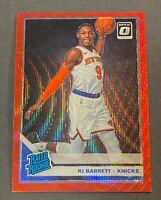 2019-20 Optic Tmall RJ Barrett Rc Red Wave Prizm China Exclusive SP  Knicks #178
