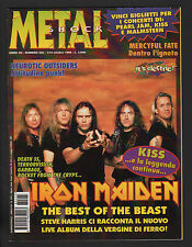 METAL SHOCK 225/1996 IRON MAIDEN KISS DEATH SS GARBAGE MERCYFUL FATE CORPSEGOD