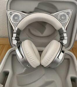 BROOKSTONE Ariana Grande Wireless Cat Ear Headphones w/ Case PRICED TO SELL