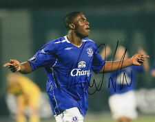 VICTOR ANICHEBE - Signed 10x8 Photograph - EVERTON - FOOTBALL