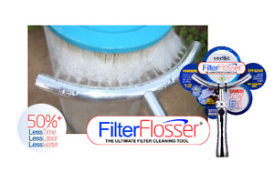 Filter Flosser Pool & Spa Cartridge Filter Cleaner Wand Cleaning Tool