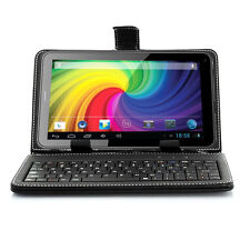 NEW 7-inch Universal Black USB 2.0 QWERT Keyboard Case Stand For indigi Phablet