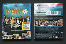 Disney Prom Blu-Ray DVD Combo Movie Combo Pack (2011) * Brand New * Slipcover