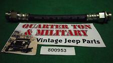 "Jeep Willys MB GPW Cj2A M38 G503 M38A1 6"" front brake hose"